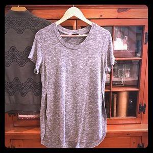 Slit side long t shirt!
